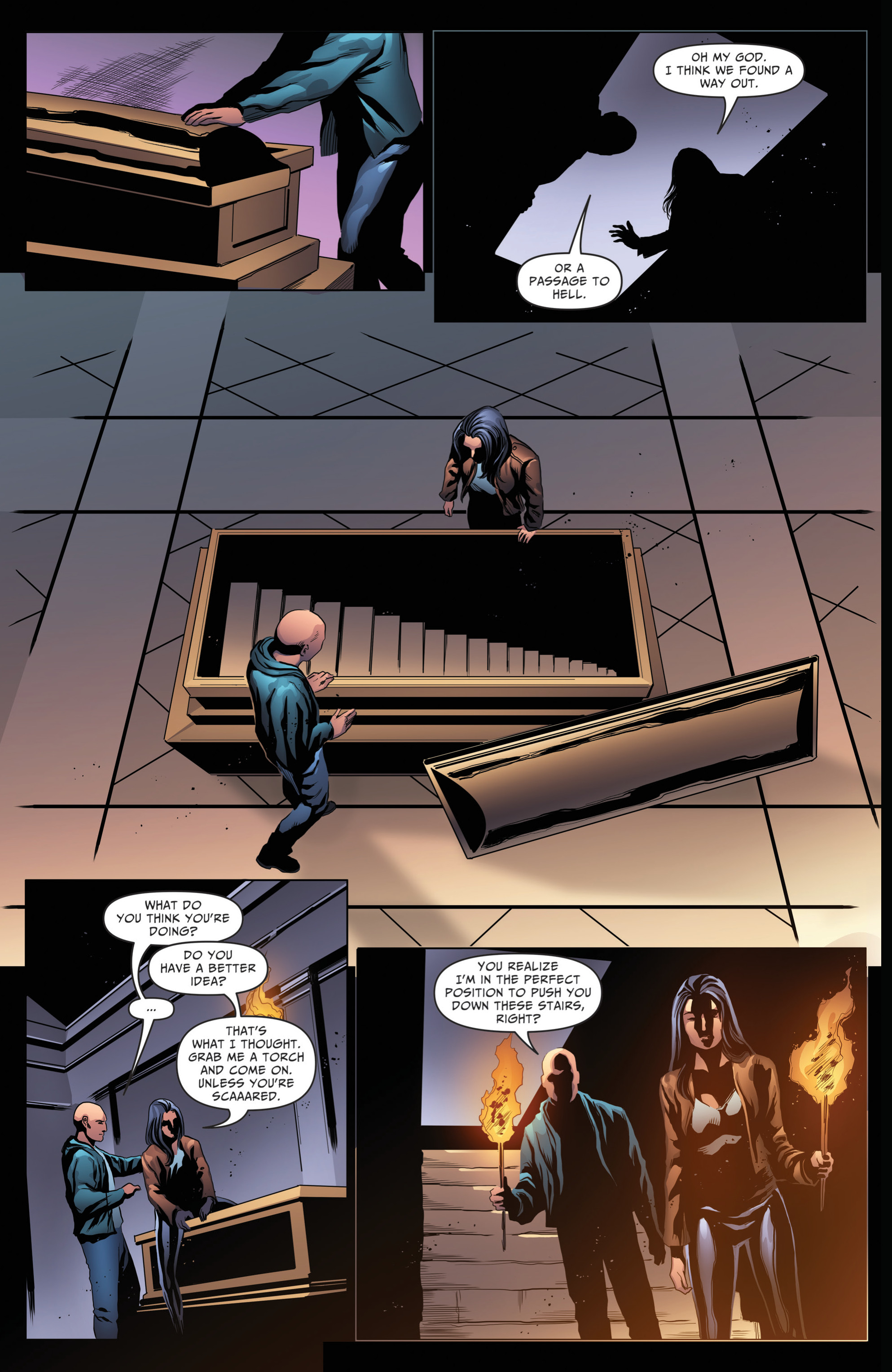 Read online Grimm Fairy Tales: Day of the Dead comic -  Issue #4 - 20