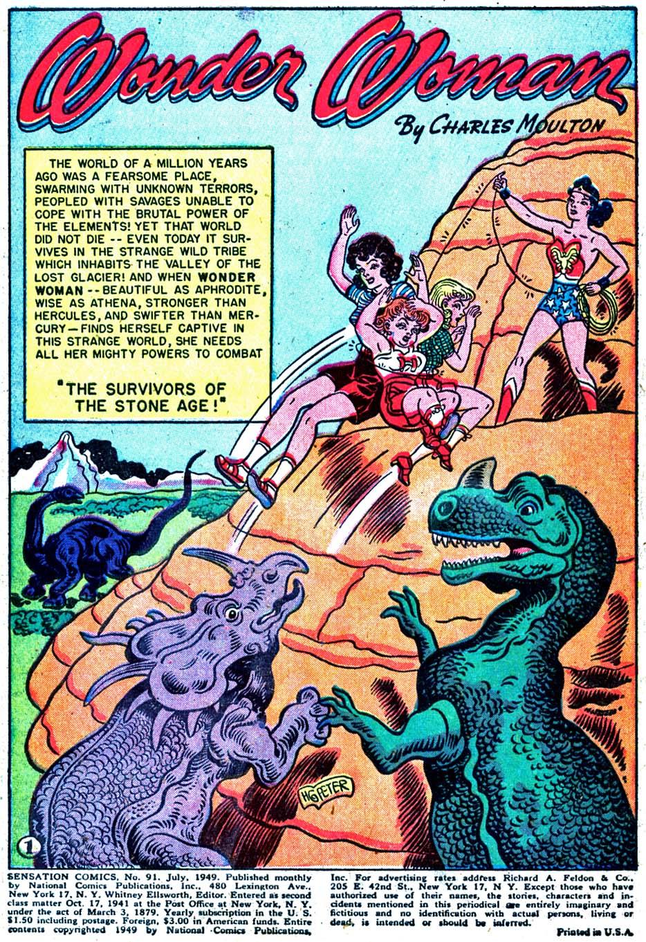 Read online Sensation (Mystery) Comics comic -  Issue #91 - 3