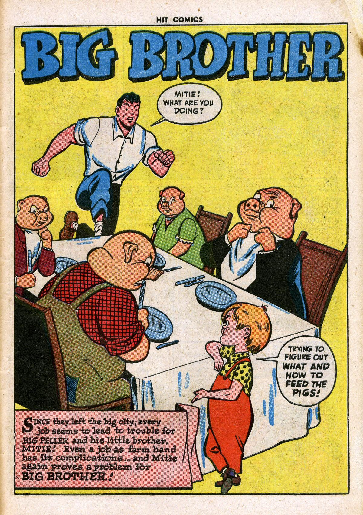 Read online Hit Comics comic -  Issue #41 - 51