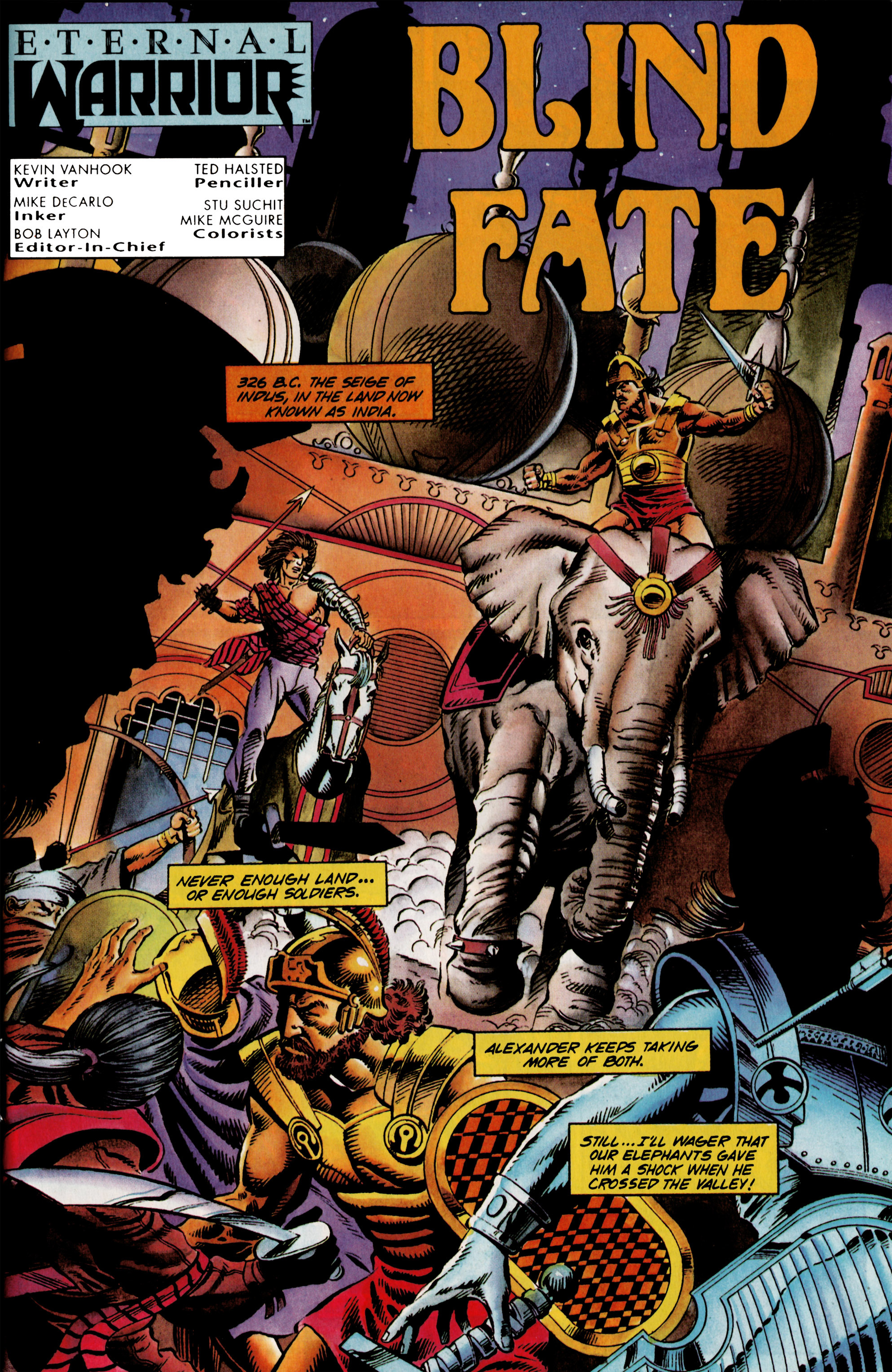 Read online Eternal Warrior (1992) comic -  Issue #23 - 2