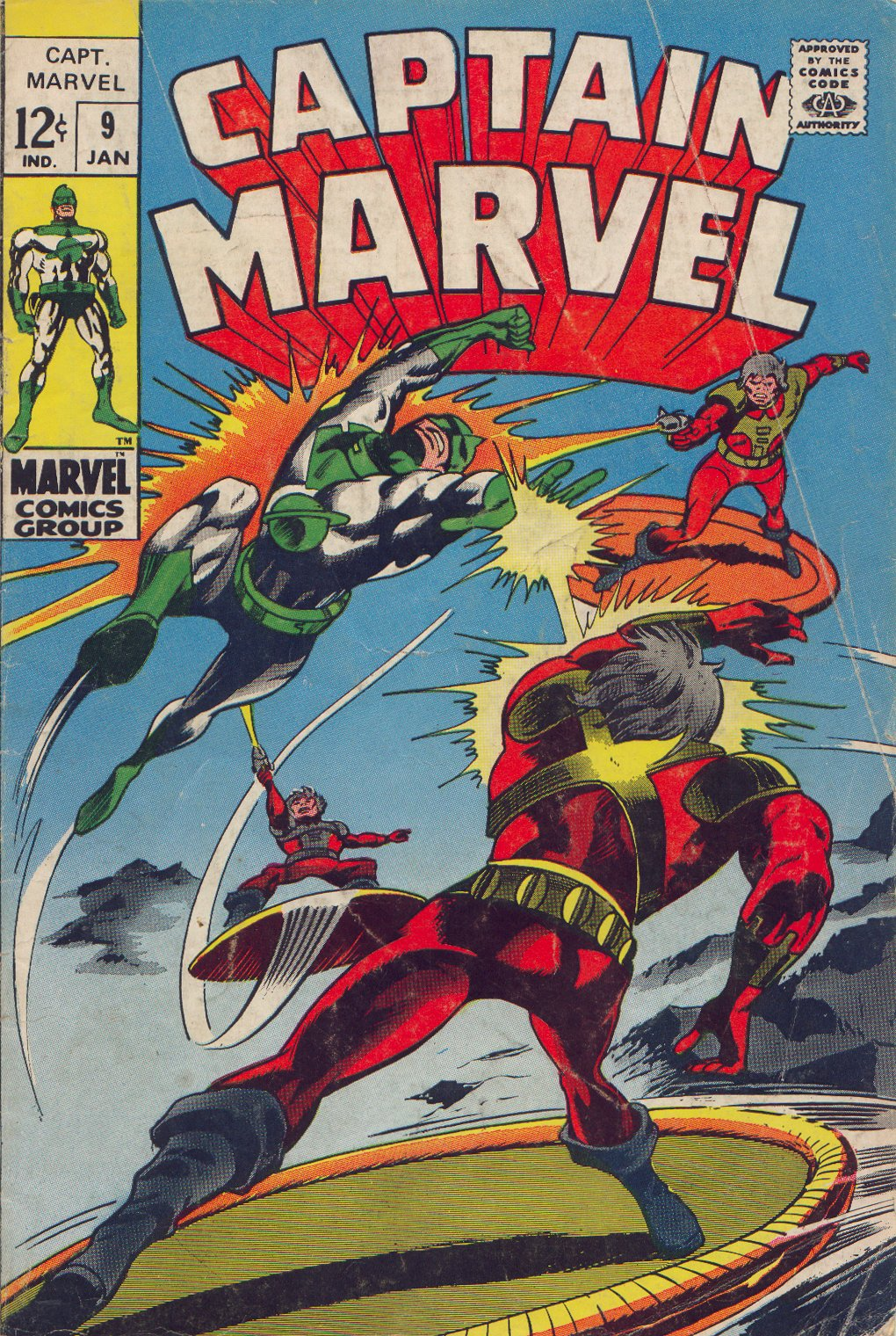 Captain Marvel (1968) 9 Page 1