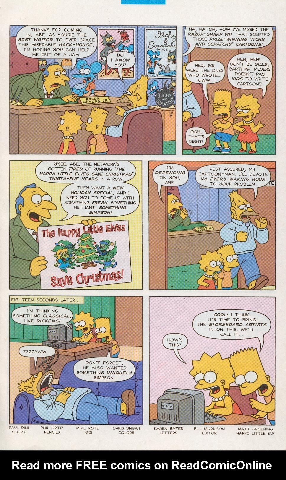 Read online Simpsons Comics comic -  Issue #52 - 26