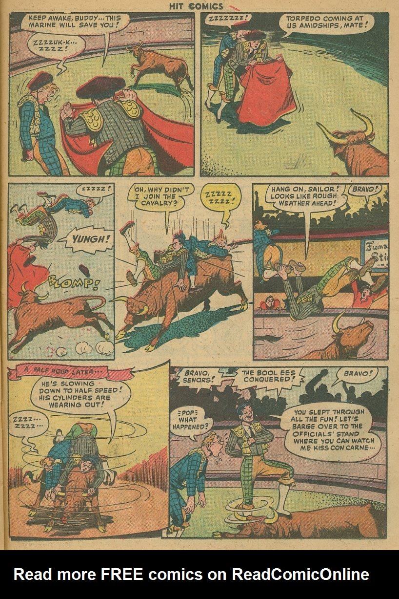 Read online Hit Comics comic -  Issue #61 - 25
