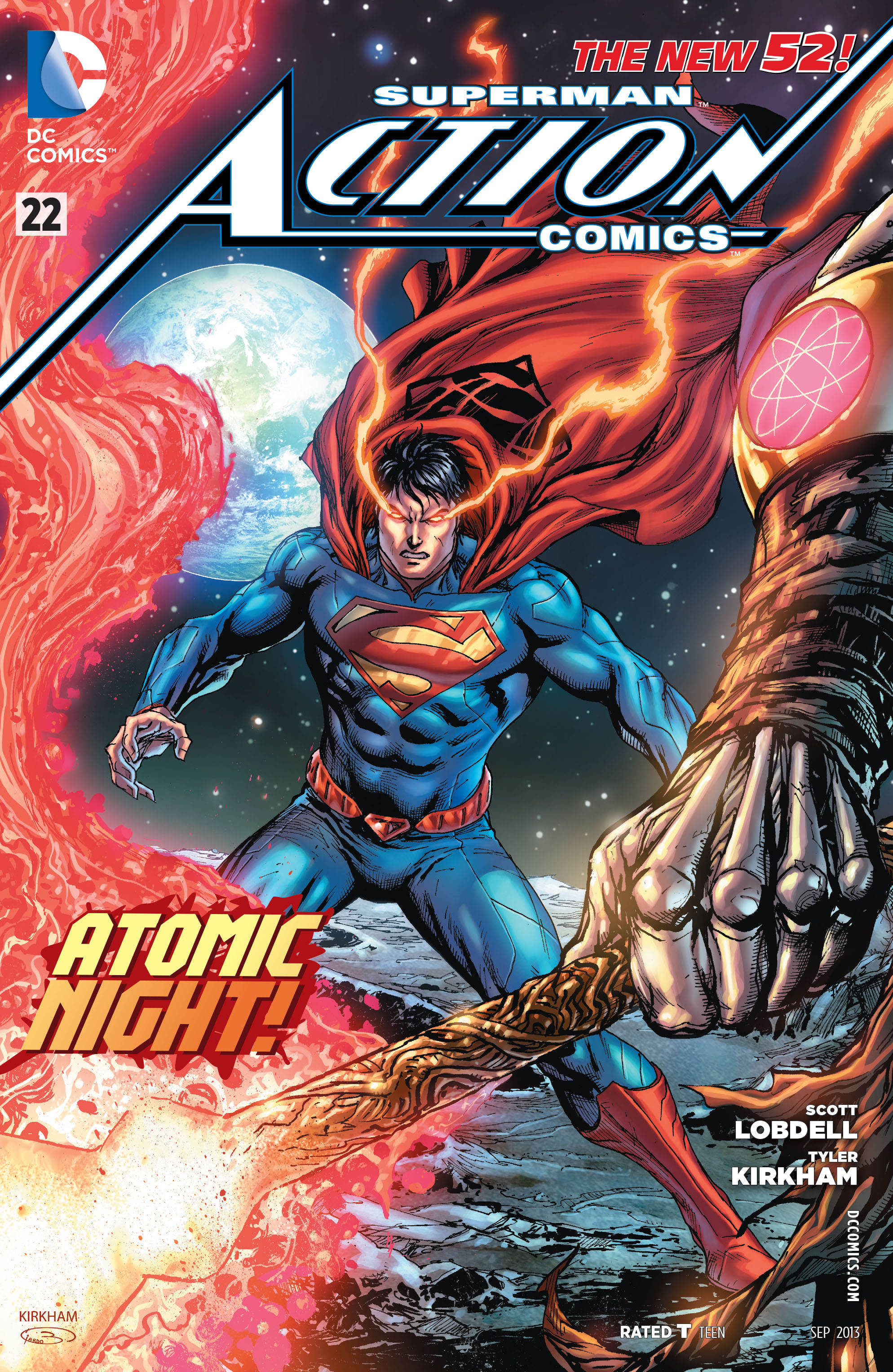 Read online Action Comics (2011) comic -  Issue #22 - 1