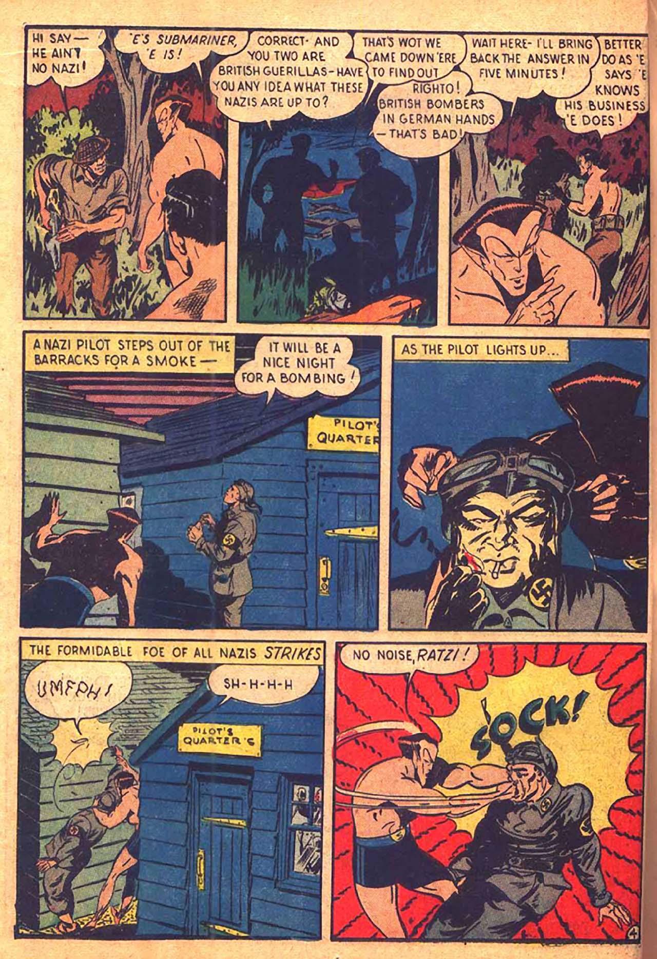 Read online All-Winners Comics comic -  Issue #9 - 31