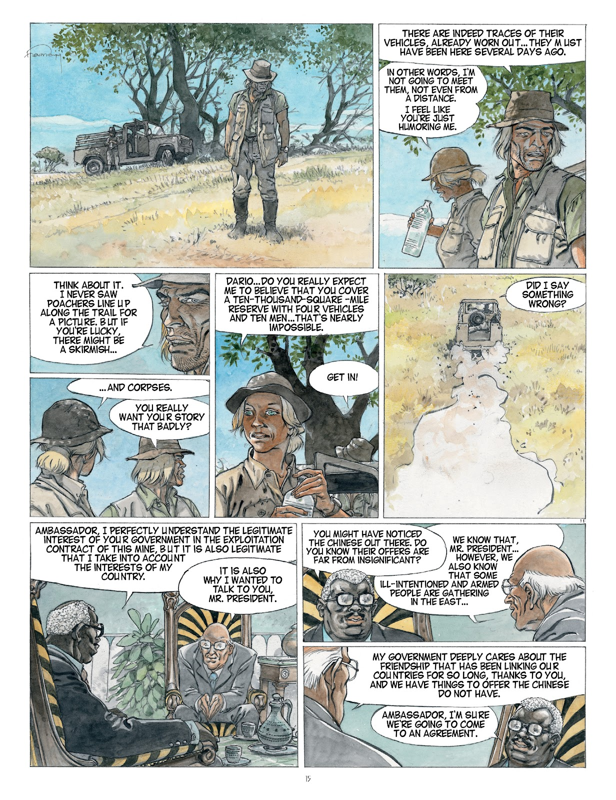 Read online Afrika comic -  Issue # TPB - 15