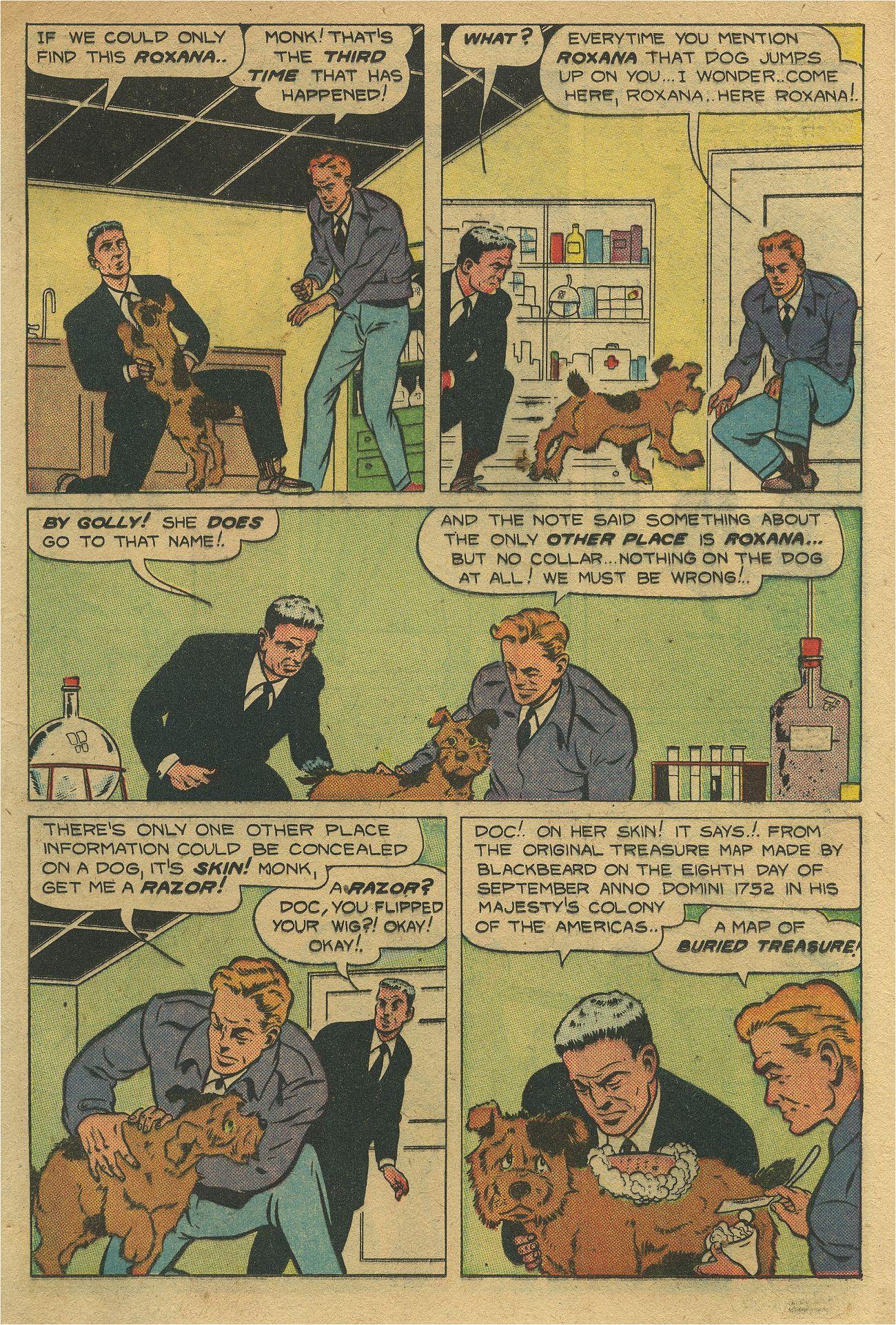 Read online Shadow Comics comic -  Issue #93 - 26