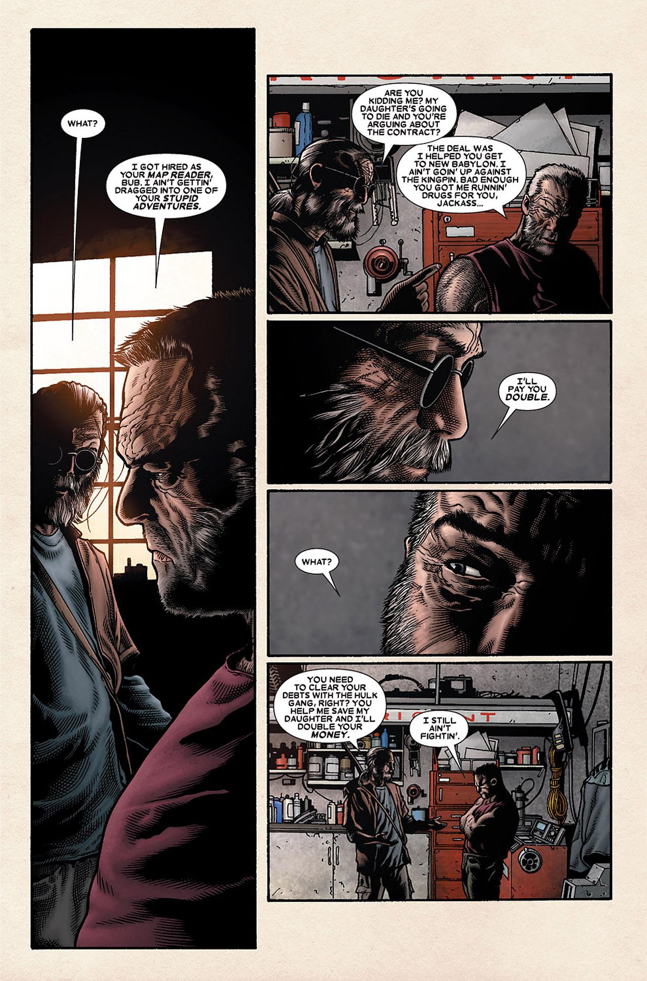 Read online Wolverine: Old Man Logan comic -  Issue # Full - 51