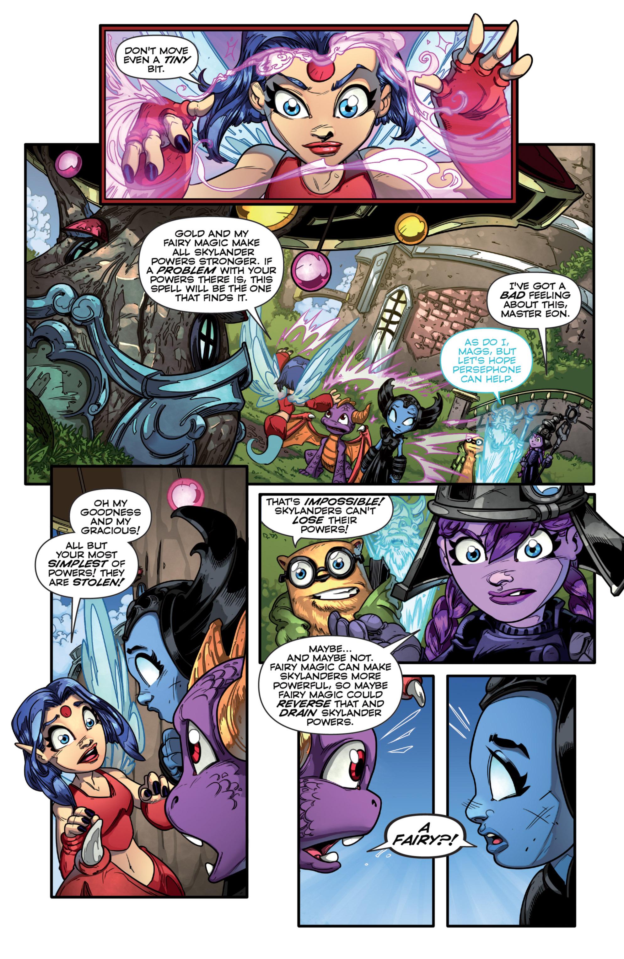 Read online Skylanders comic -  Issue #7 - 10