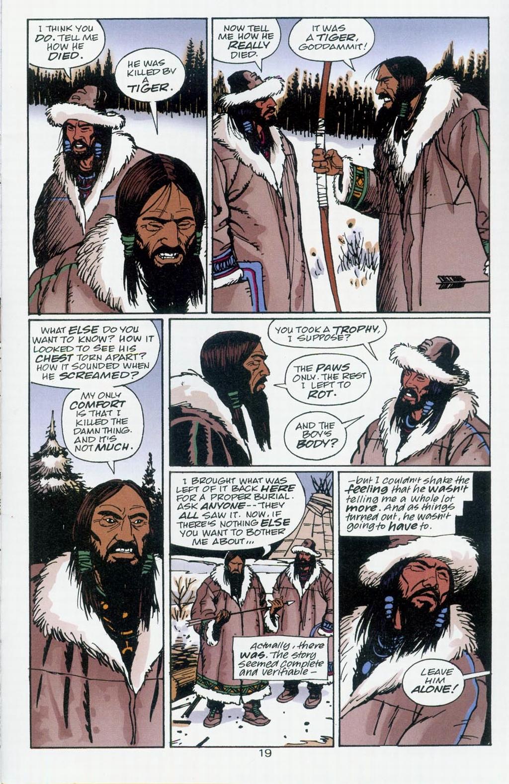 Muktuk Wolfsbreath: Hard-Boiled Shaman issue 1 - Page 19