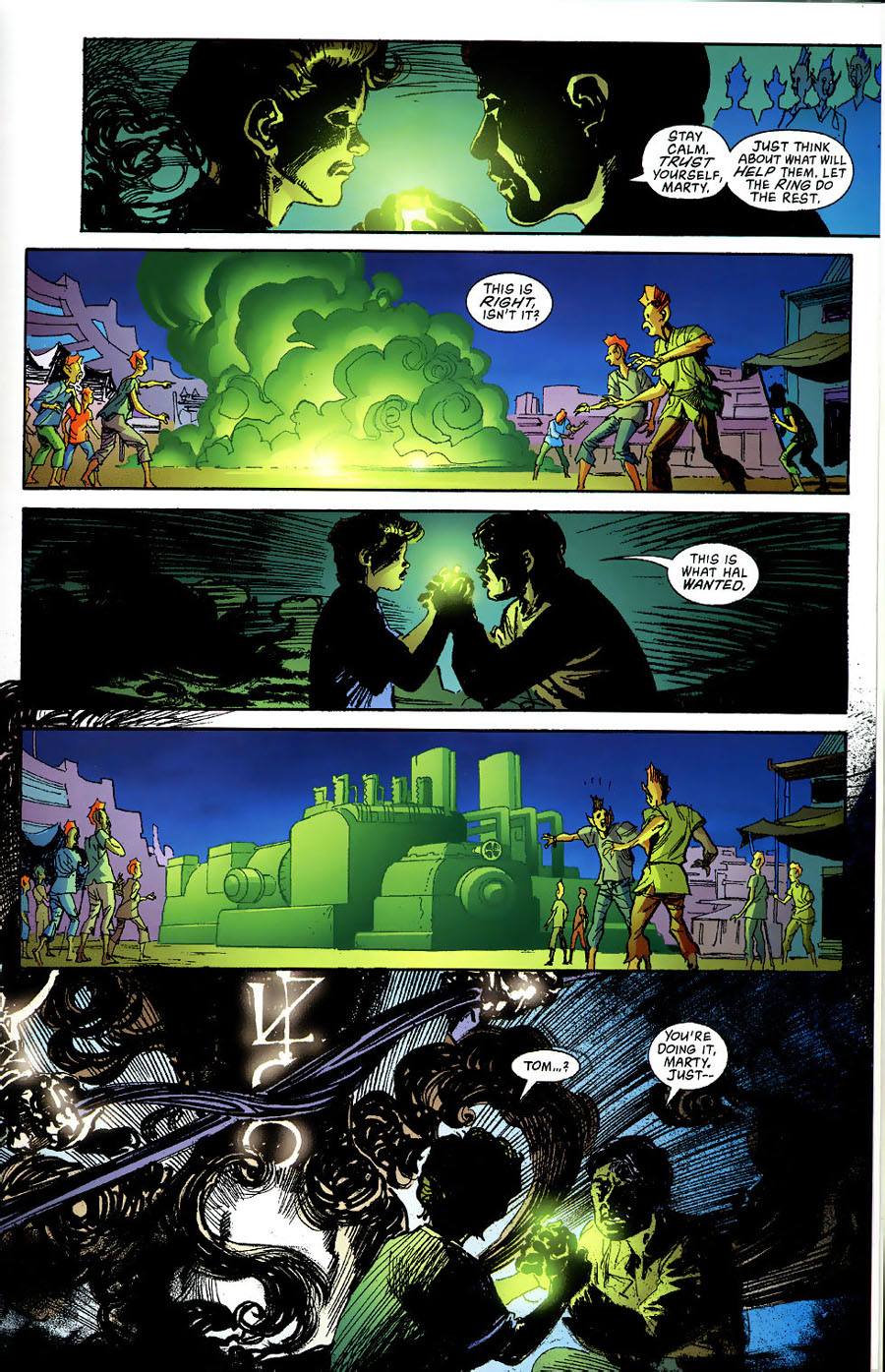Read online Green Lantern: Legacy: The Last Will and Testament of Hal Jordan comic -  Issue # TPB - 77