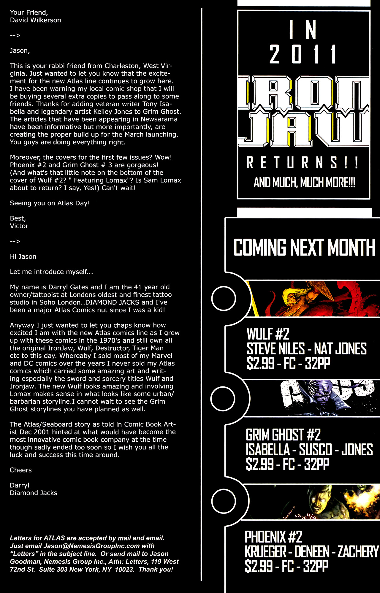 Read online The Grim Ghost comic -  Issue #1 - 27