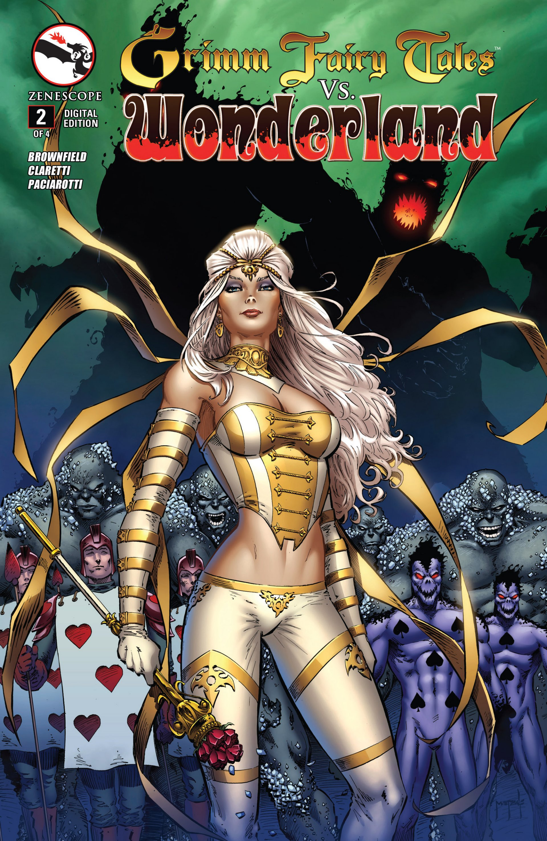 Read online Grimm Fairy Tales vs. Wonderland comic -  Issue #2 - 1