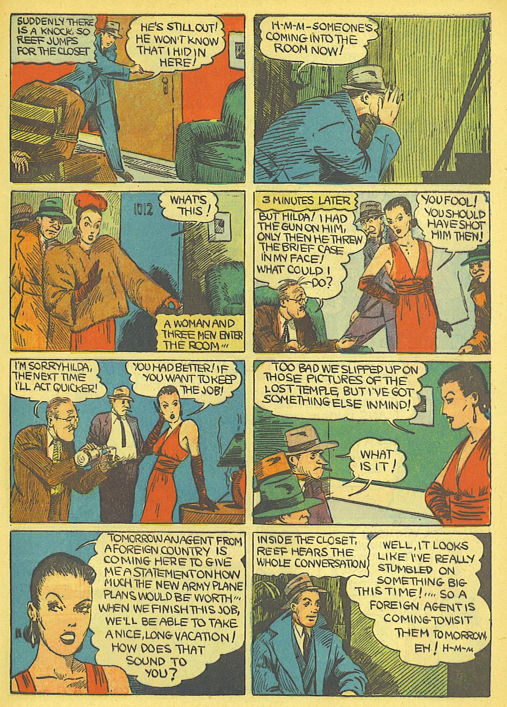 Read online Amazing Man Comics comic -  Issue #19 - 55