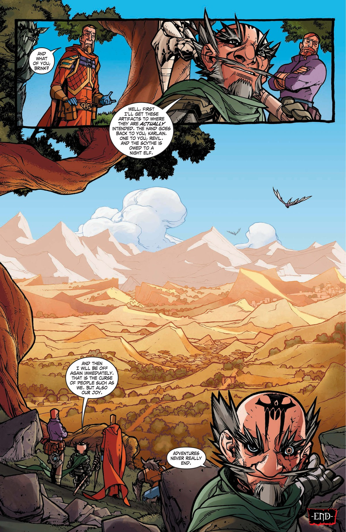 Read online World of Warcraft: Dark Riders comic -  Issue # Full - 137