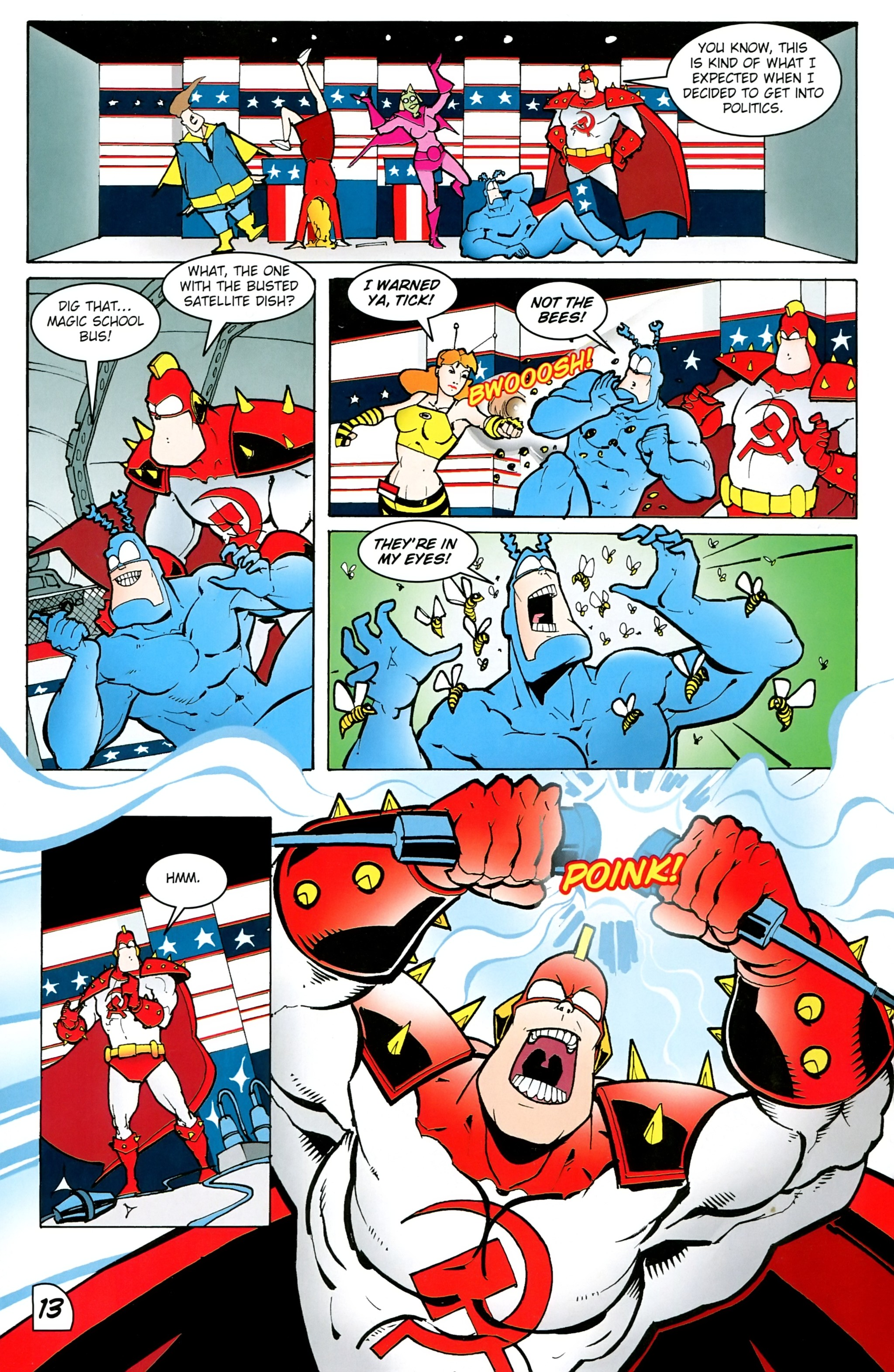 Read online Free Comic Book Day 2017 comic -  Issue # The Tick - 30