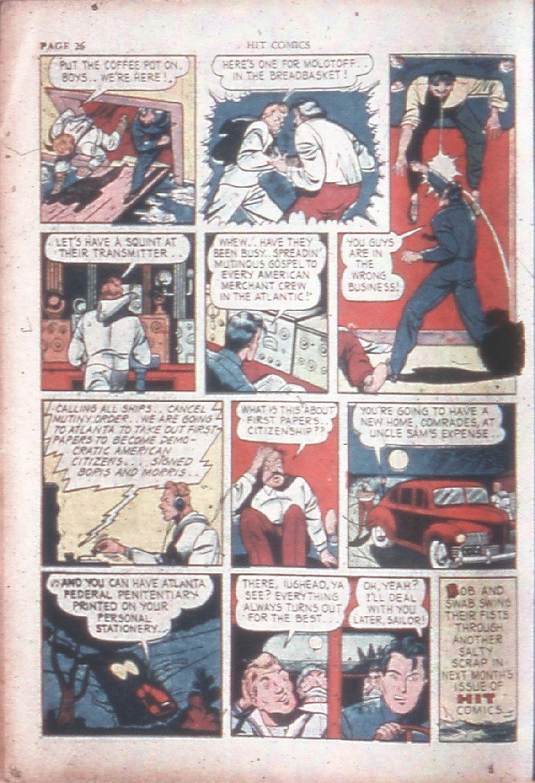 Read online Hit Comics comic -  Issue #15 - 28