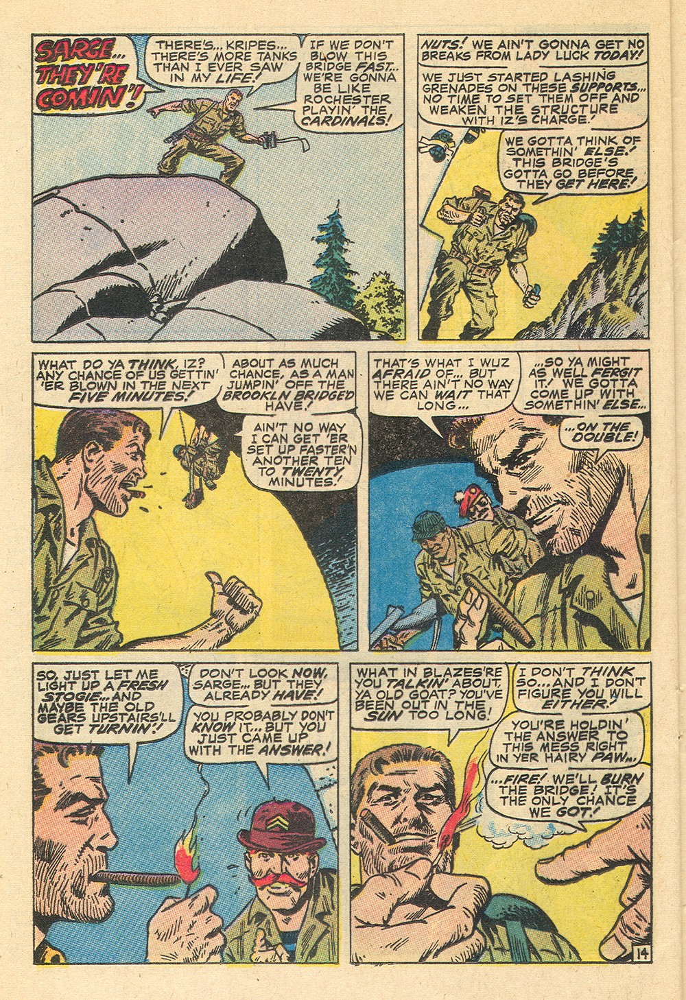 Read online Sgt. Fury comic -  Issue #71 - 24