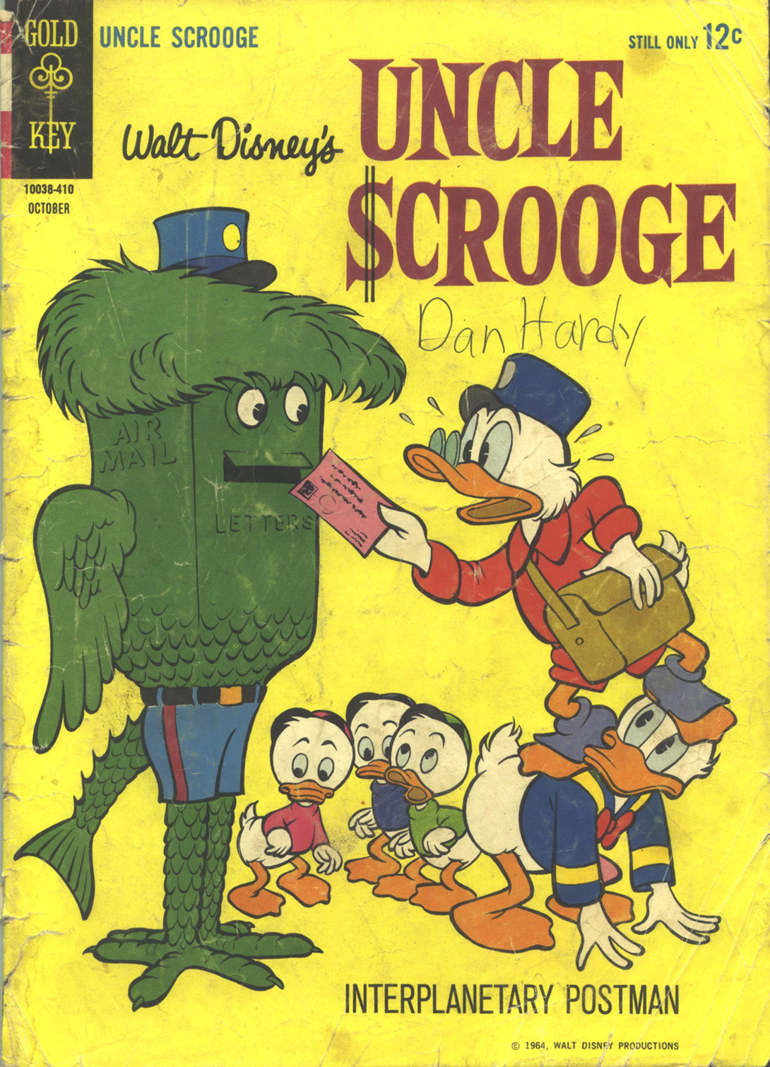 Read online Uncle Scrooge (1953) comic -  Issue #53 - 1