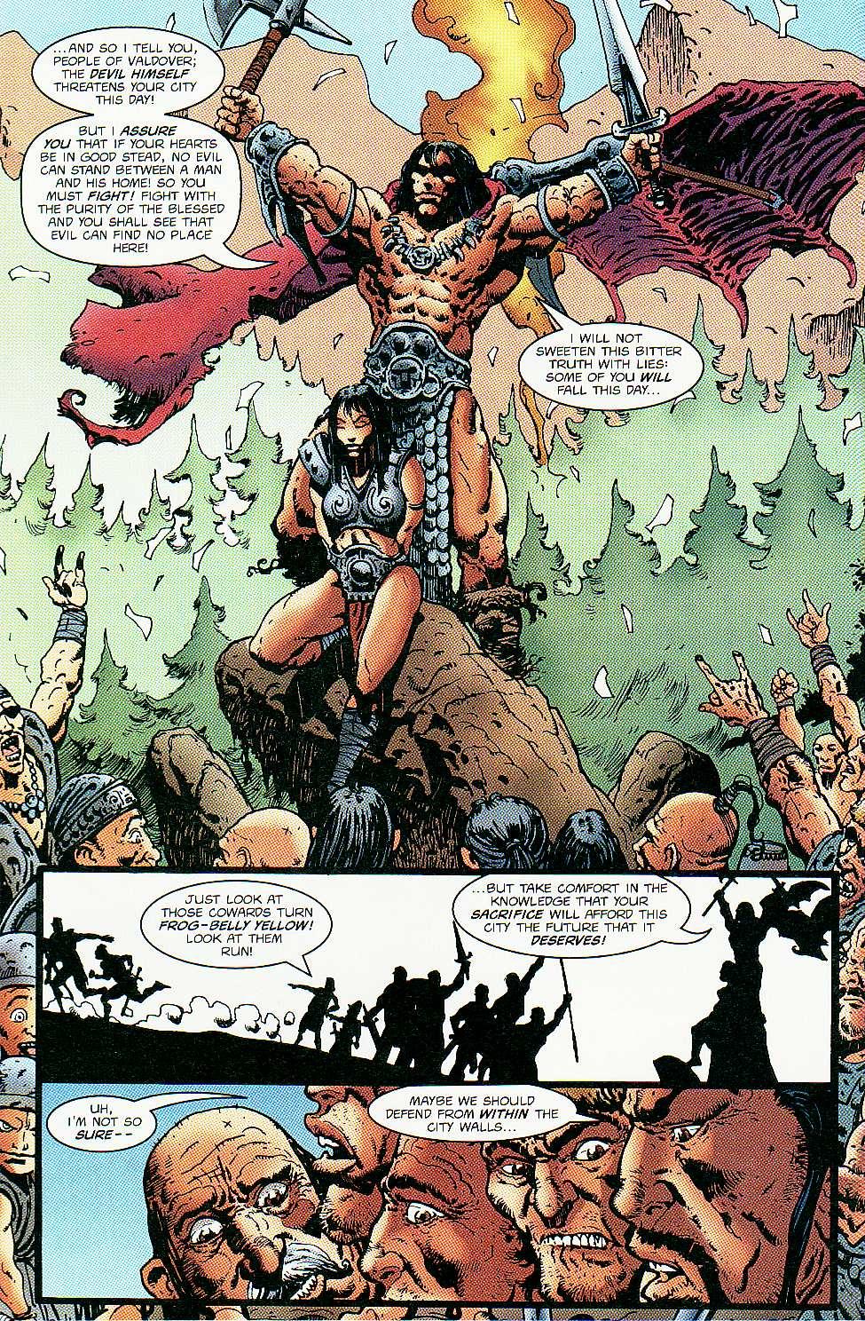 Read online Conan: Return of Styrm comic -  Issue #3 - 8