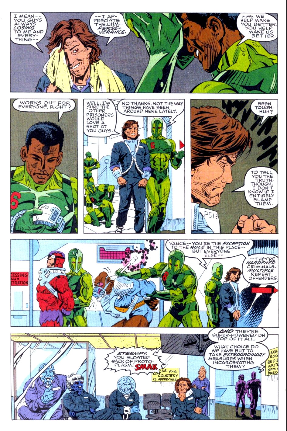 The New Warriors Issue #36 #40 - English 6
