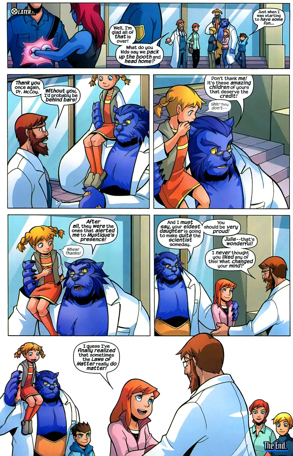 Read online X-Men and Power Pack comic -  Issue #2 - 23