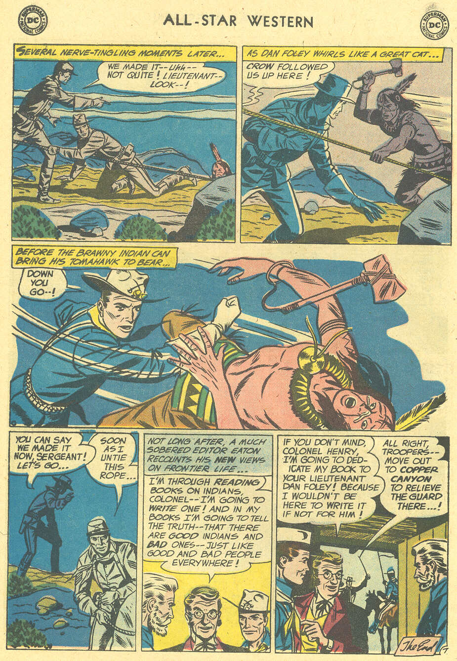 Read online All-Star Western (1951) comic -  Issue #113 - 22