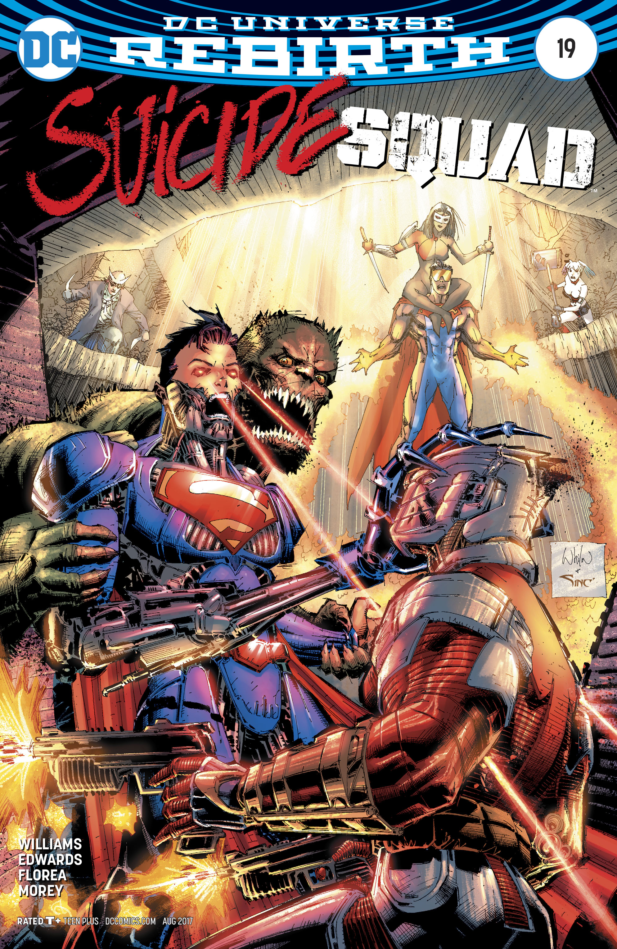 Read online Suicide Squad (2016) comic -  Issue #19 - 2