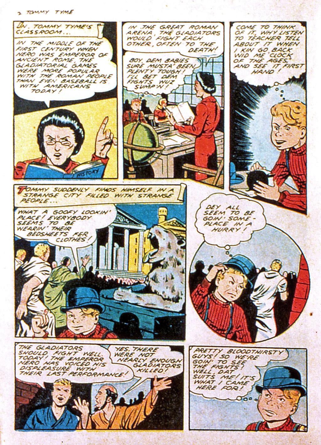Read online Mystic Comics (1944) comic -  Issue #1 - 36