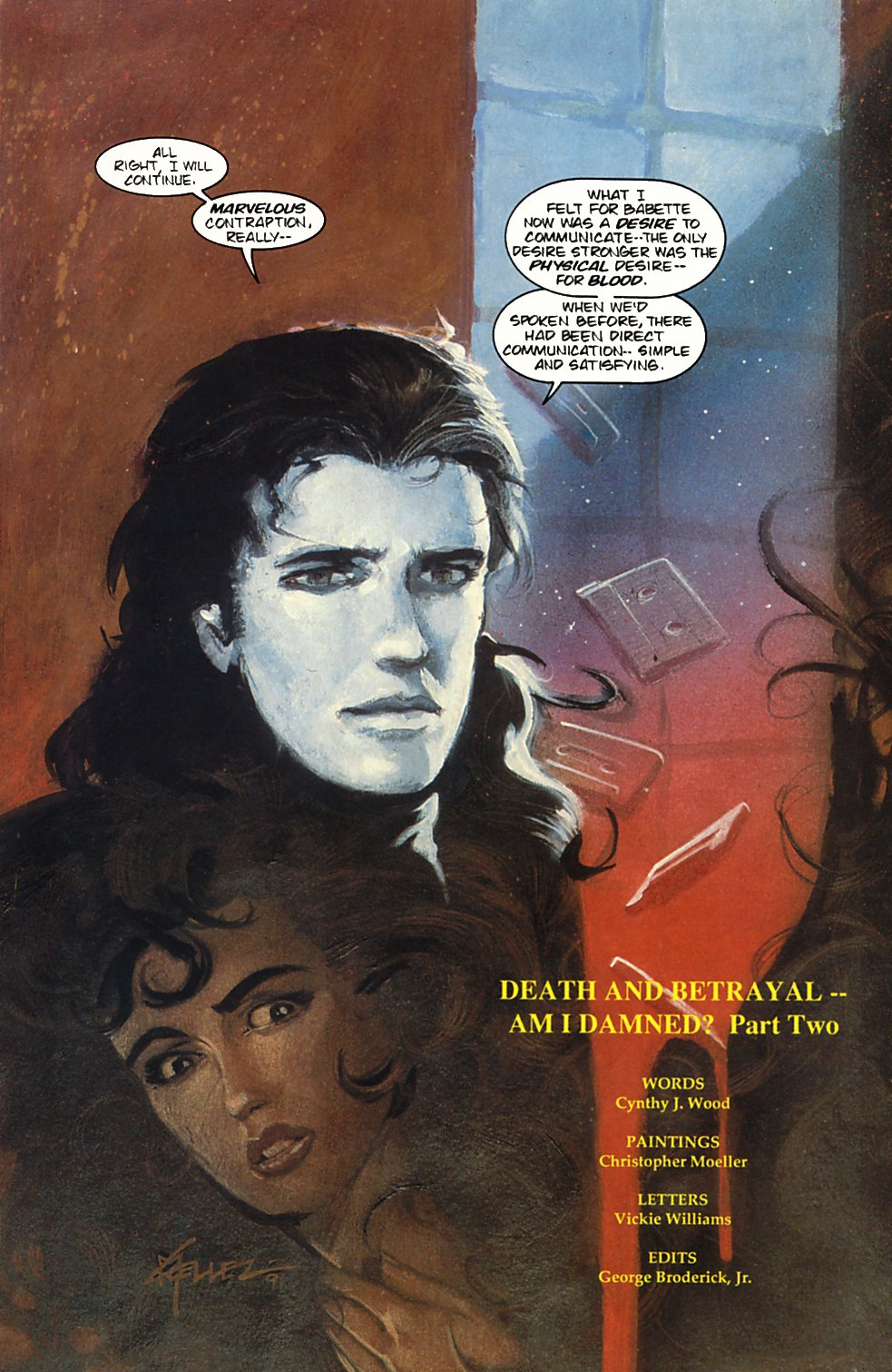 Read online Anne Rice's Interview with the Vampire comic -  Issue #3 - 5