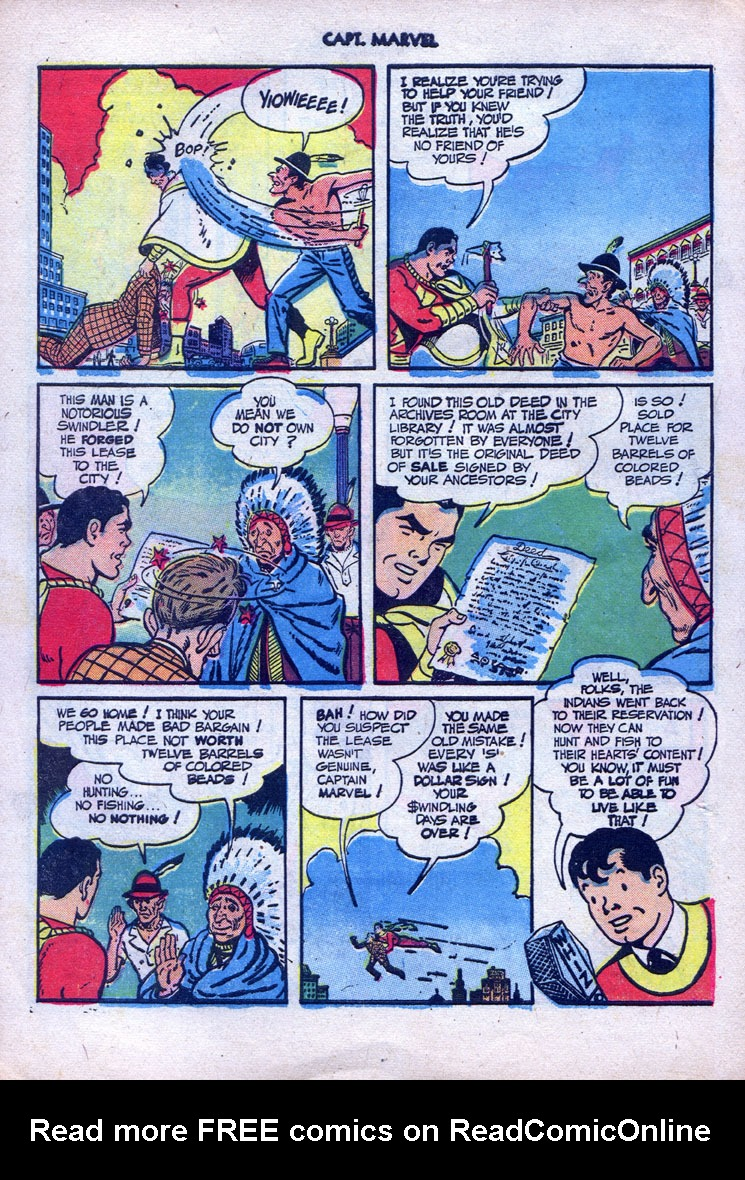 Captain Marvel Adventures issue 87 - Page 21