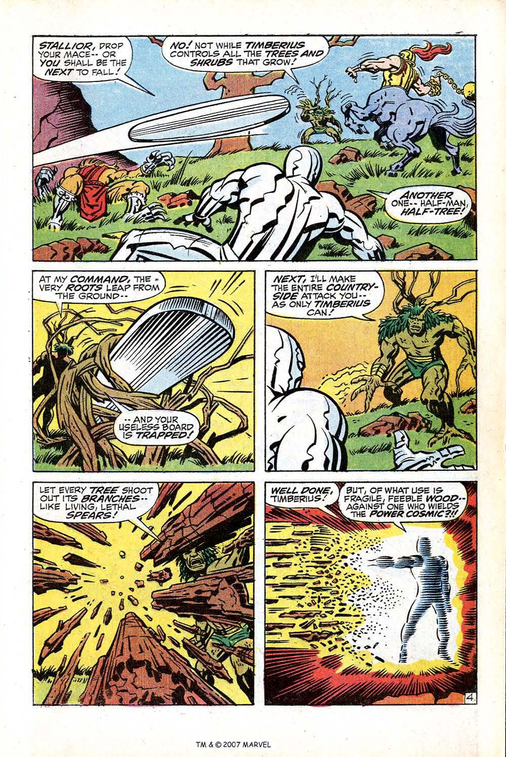 Silver Surfer (1968) issue 18 - Page 7