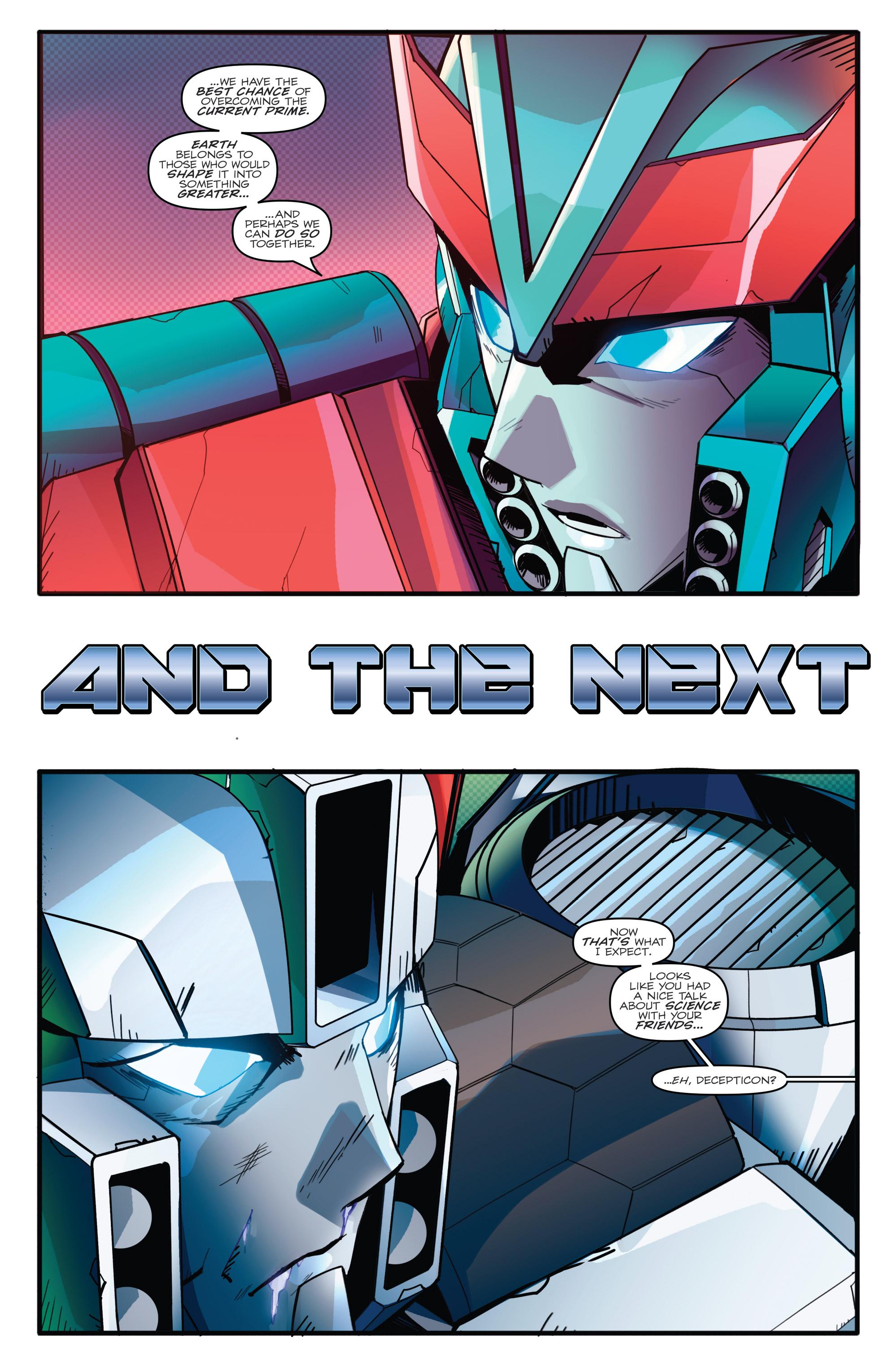 Read online Optimus Prime comic -  Issue #7 - 22