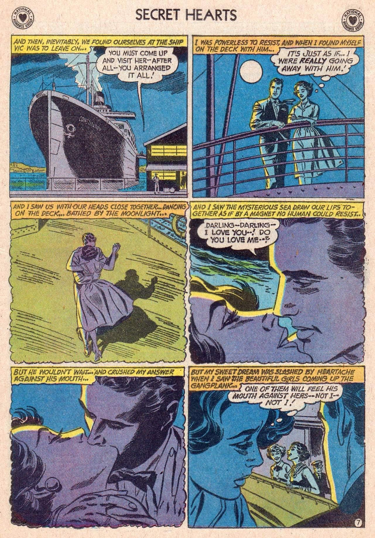 Read online Secret Hearts comic -  Issue #67 - 9