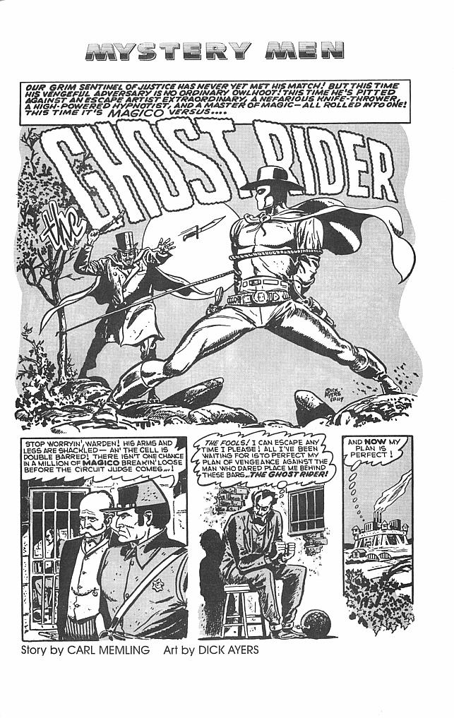 Read online Golden-Age Men of Mystery comic -  Issue #1 - 30