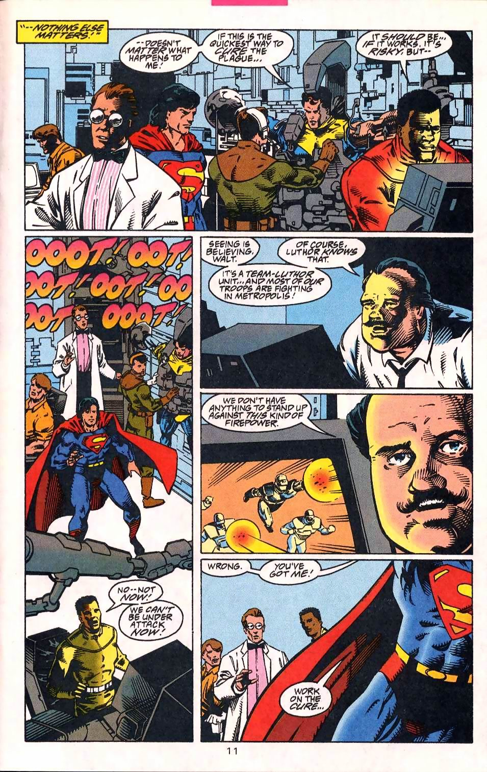 Read online Adventures of Superman (1987) comic -  Issue #513 - 12
