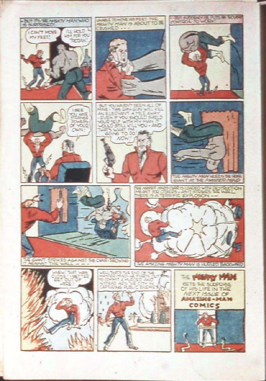 Read online Amazing Man Comics comic -  Issue #18 - 40