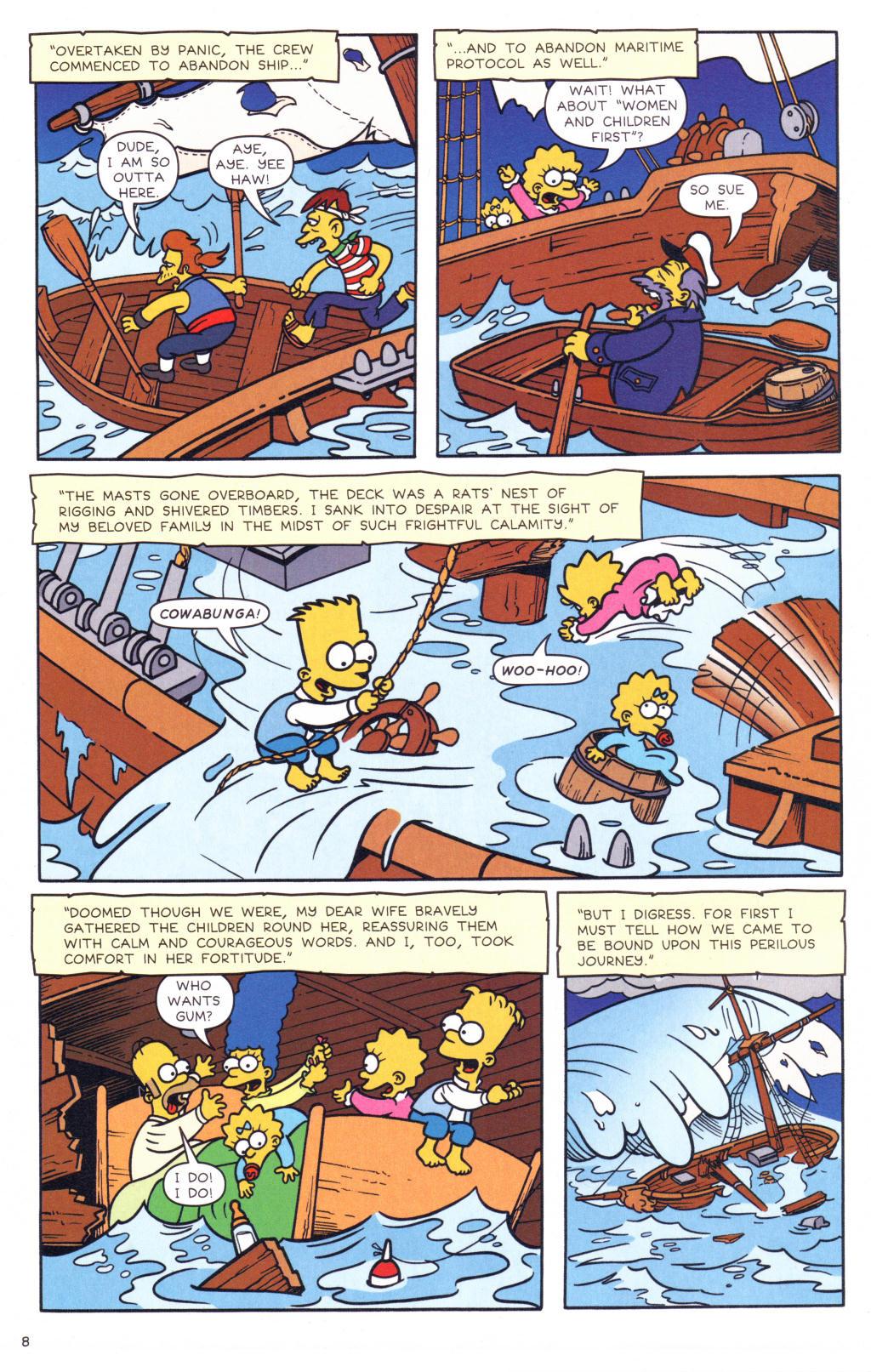 Read online Simpsons Comics comic -  Issue #127 - 7