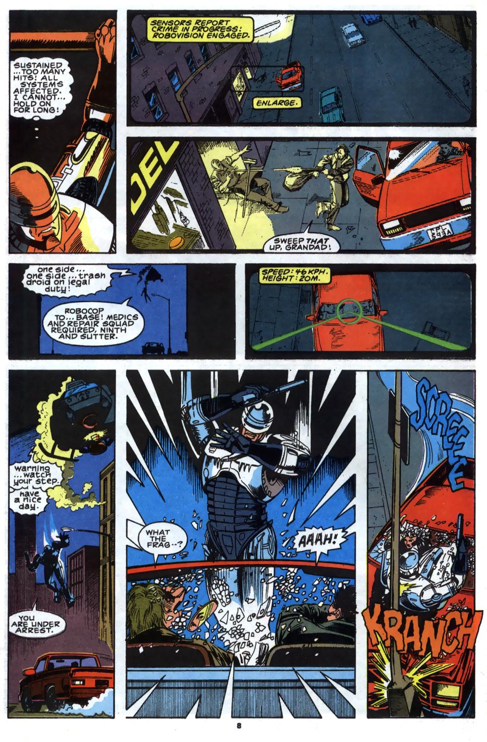 Read online Robocop (1990) comic -  Issue #2 - 7