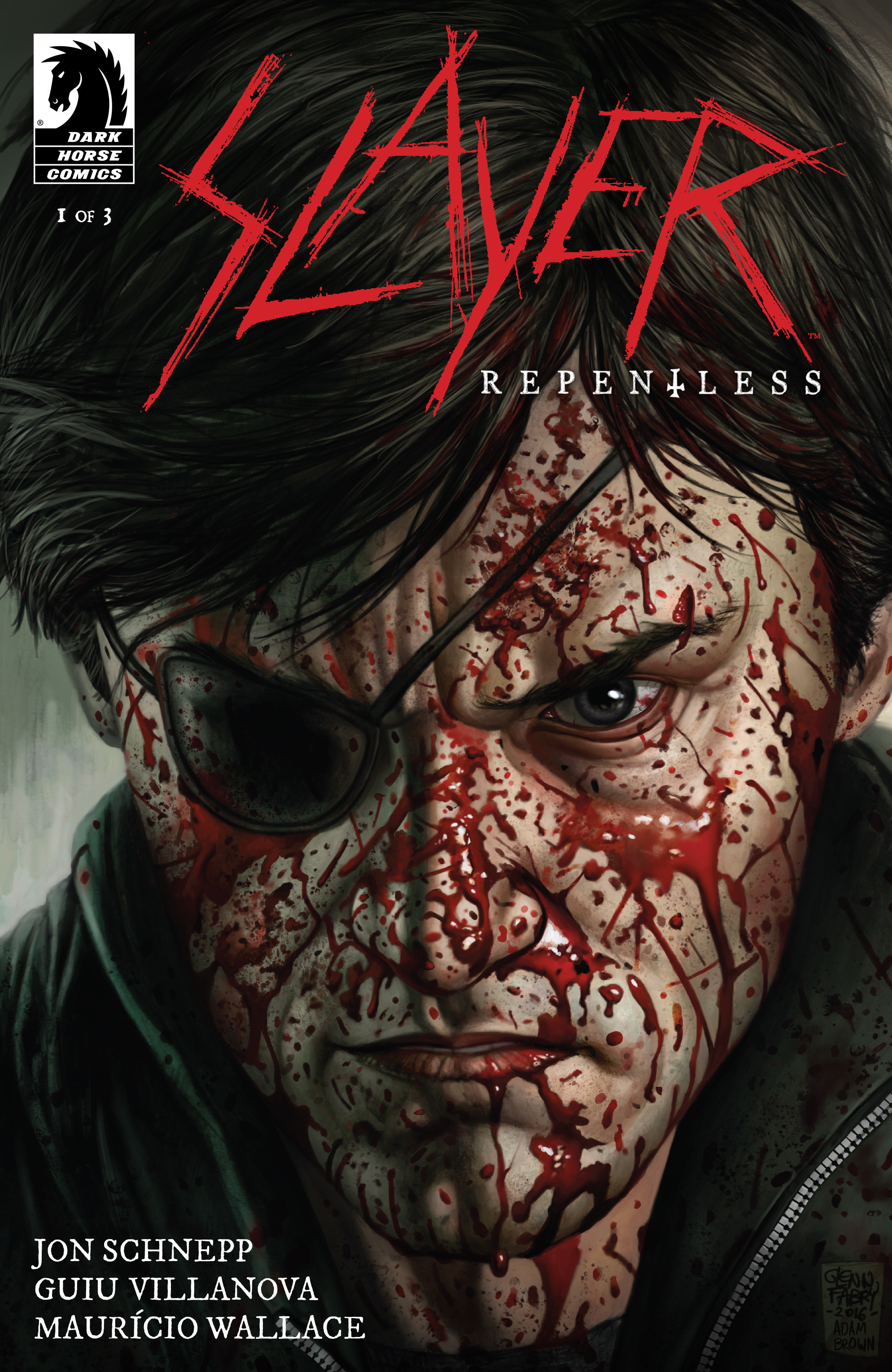 Read online Slayer: Repentless comic -  Issue #1 - 1