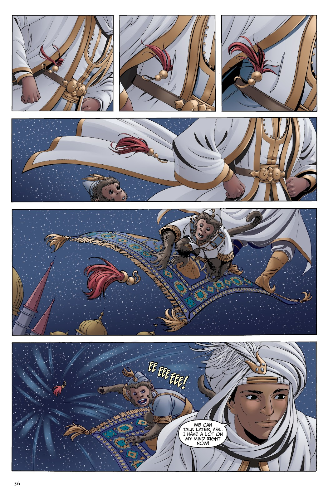 Read online Disney Aladdin: Four Tales of Agrabah comic -  Issue # TPB - 36