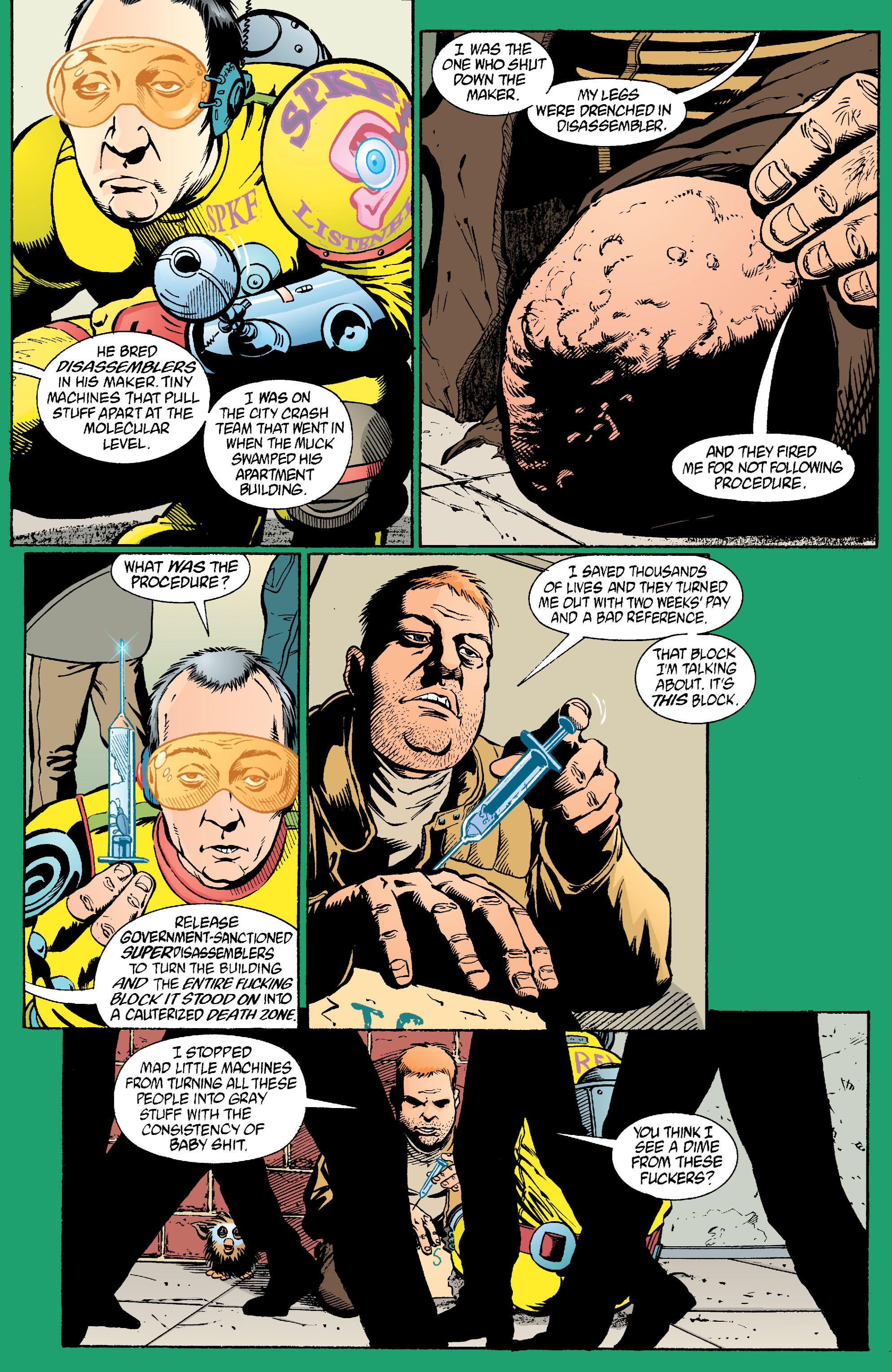 Read online Transmetropolitan comic -  Issue #22 - 5