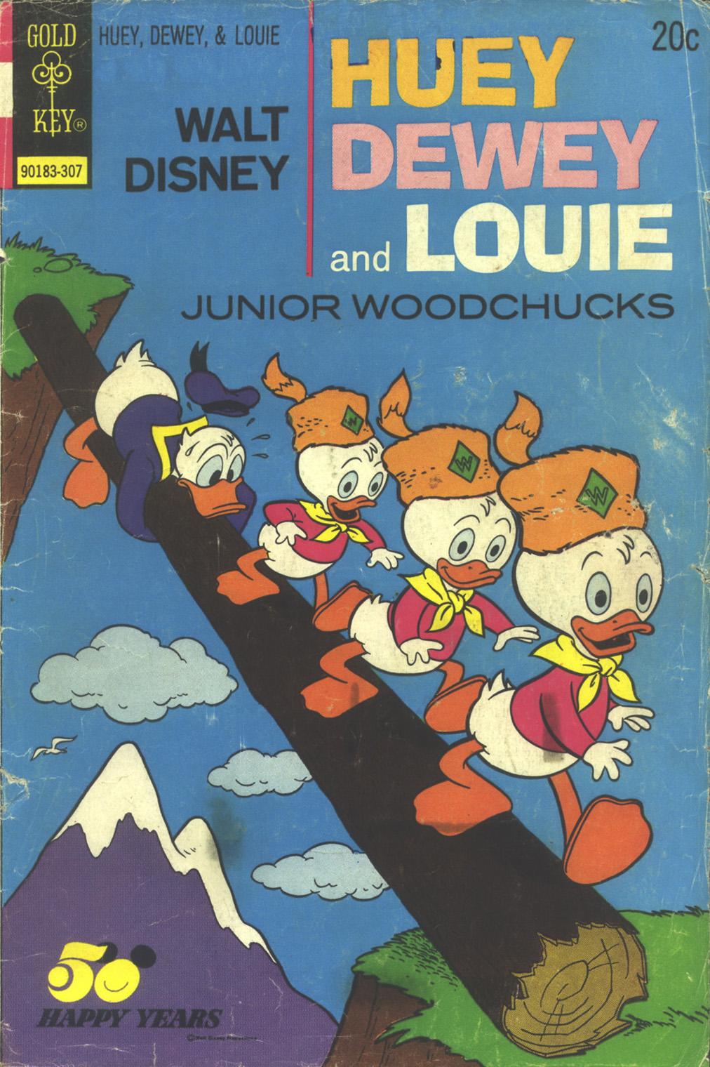 Huey, Dewey, and Louie Junior Woodchucks 21 Page 1
