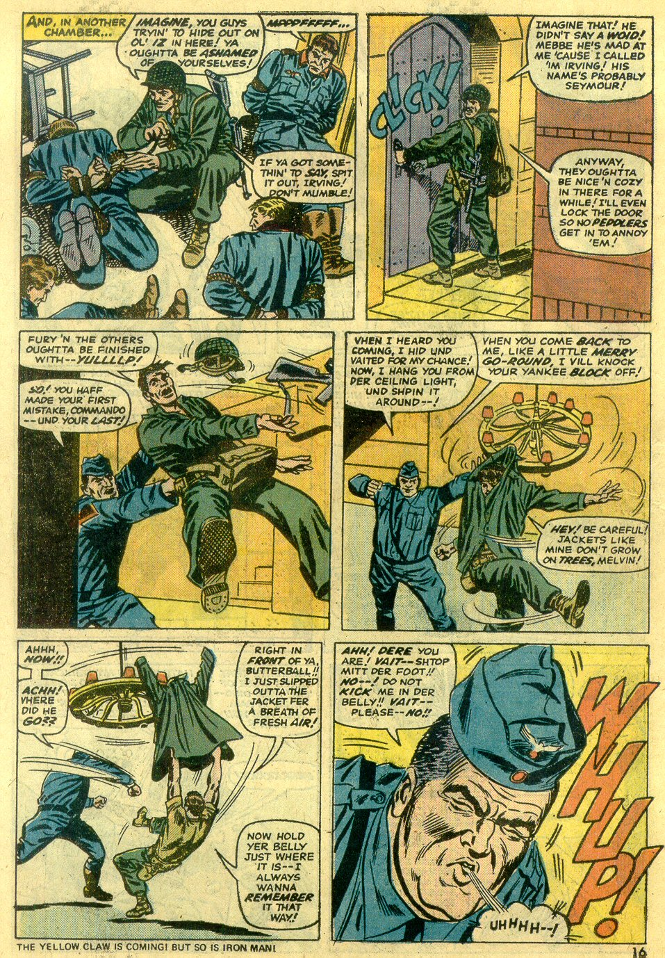 Read online Sgt. Fury comic -  Issue #122 - 18