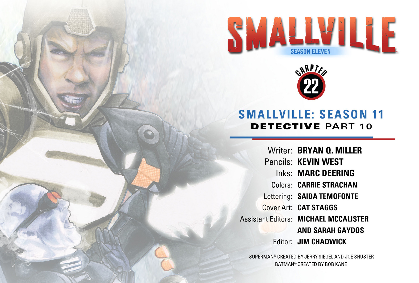 Read online Smallville: Season 11 comic -  Issue #22 - 2