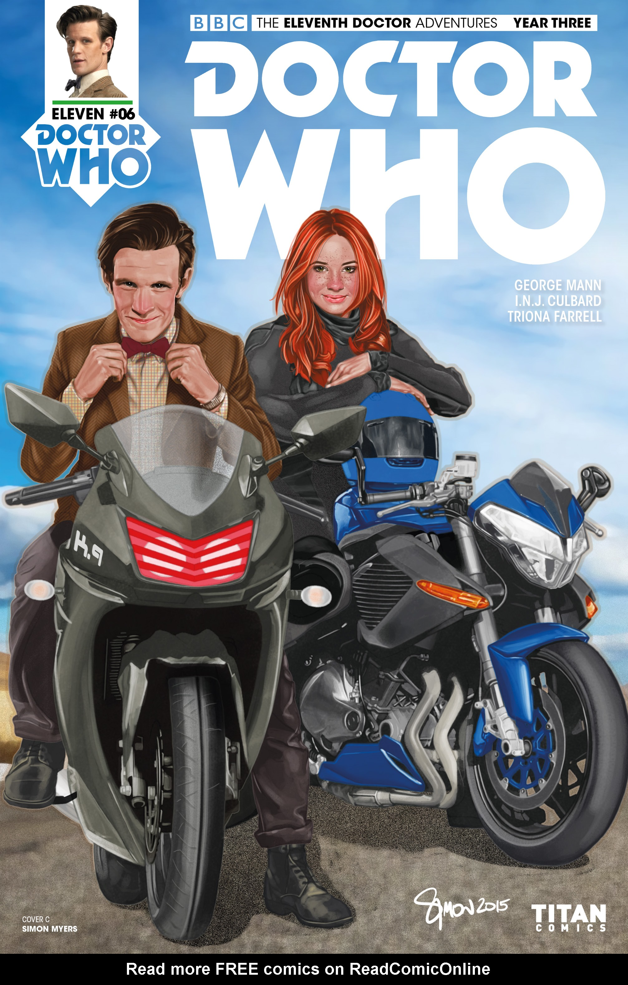 Read online Doctor Who: The Eleventh Doctor Year Three comic -  Issue #6 - 3