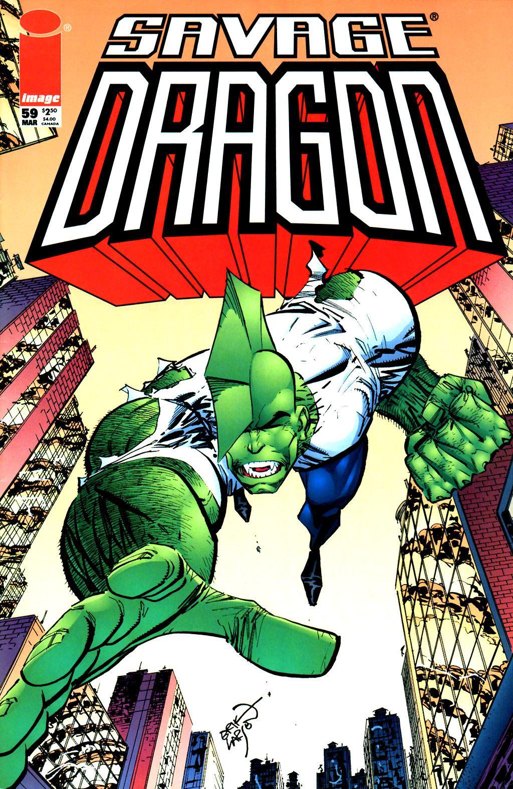 The Savage Dragon (1993) Issue #59 #62 - English 1