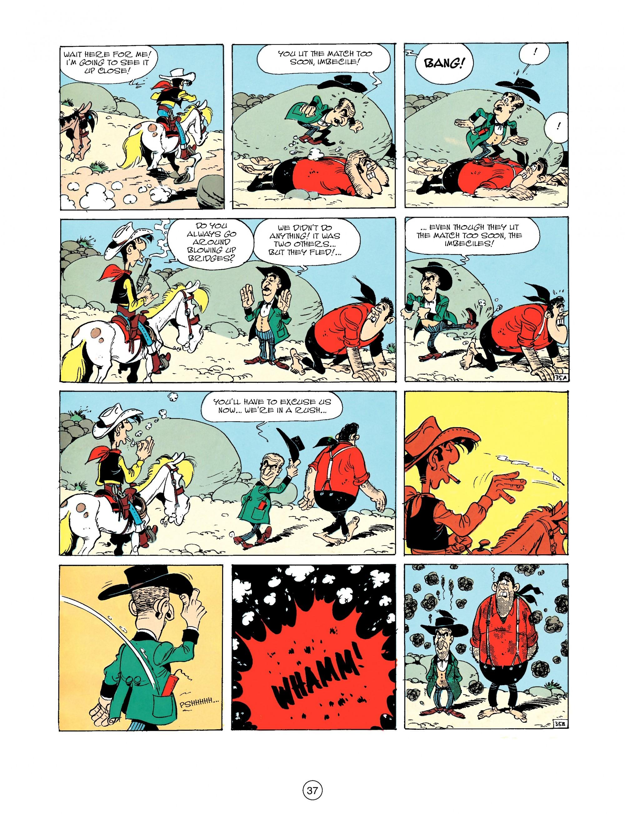 Read online A Lucky Luke Adventure comic -  Issue #33 - 37