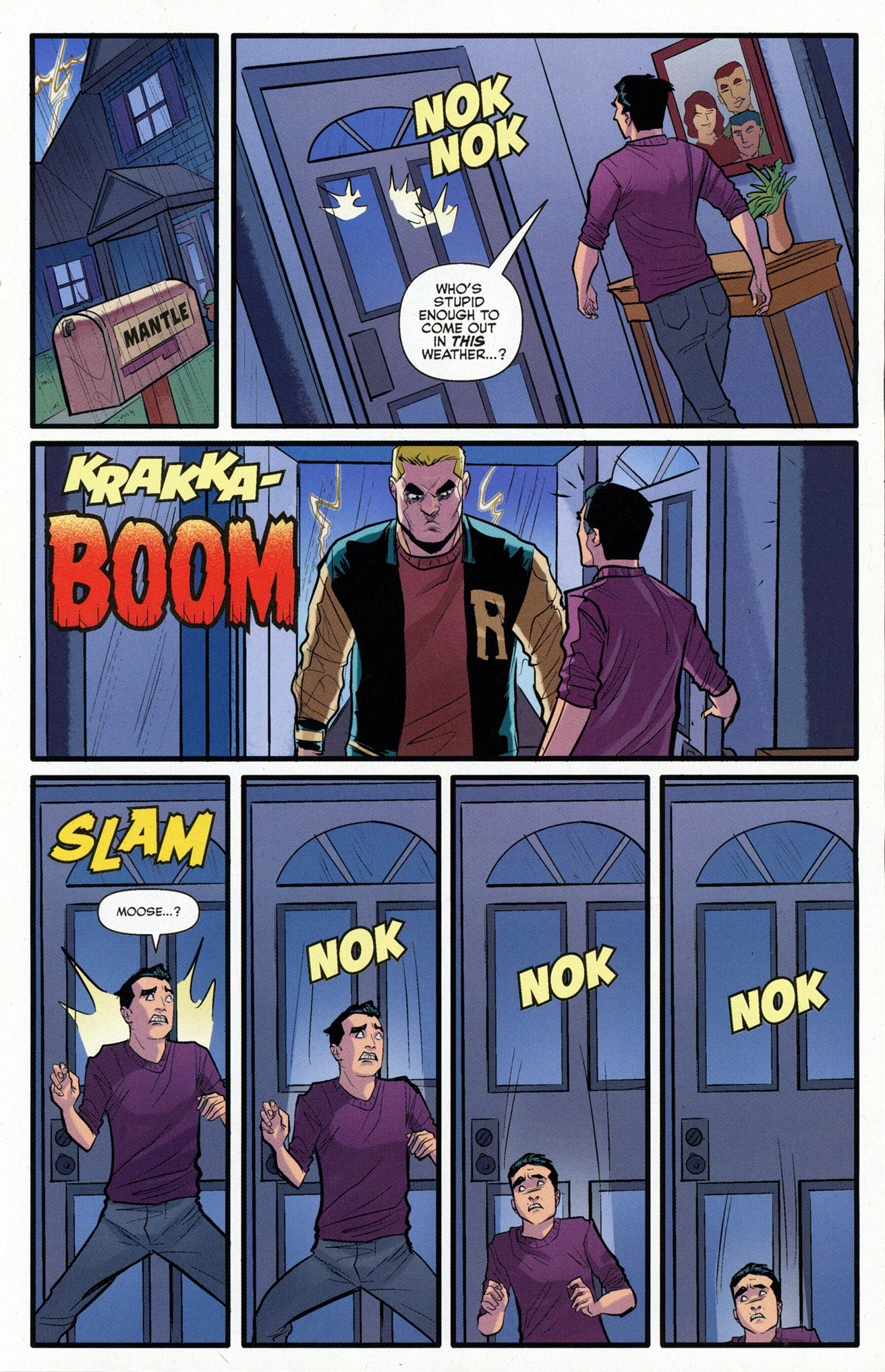 Read online Archie (2015) comic -  Issue #16 - 17