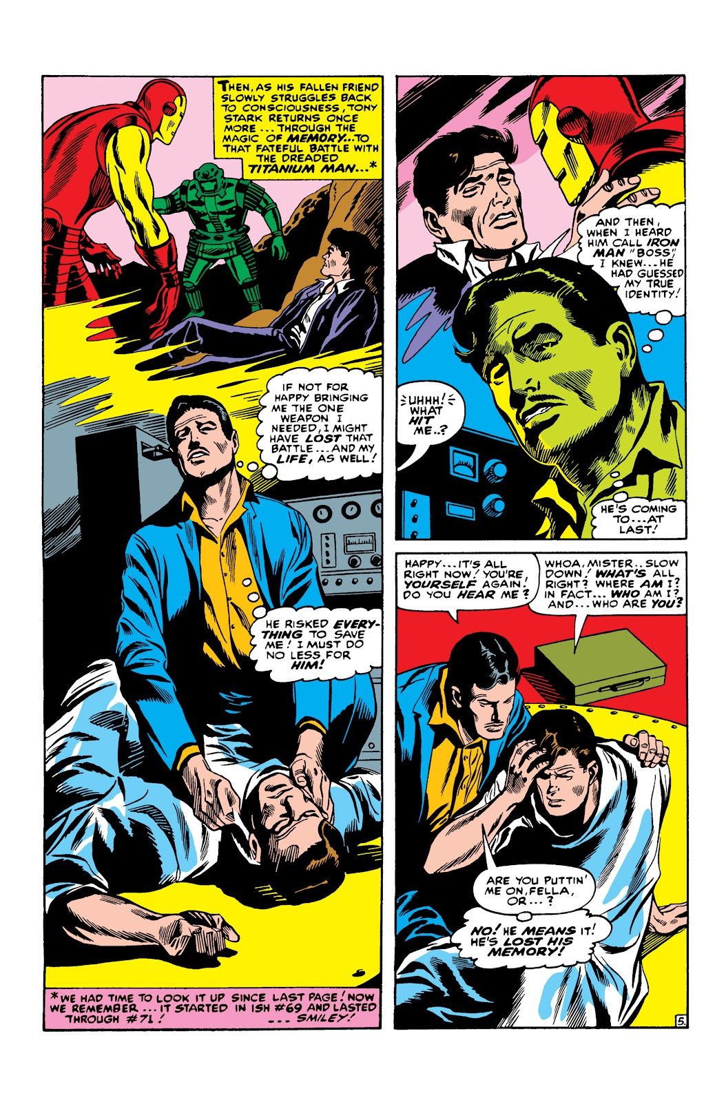 Read online Marvel Masterworks: The Invincible Iron Man comic -  Issue # TPB 3 (Part 3) - 38